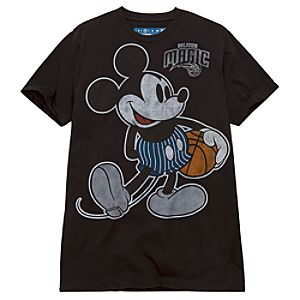 Orlando Magic Player Mickey Mouse Tee for Adults