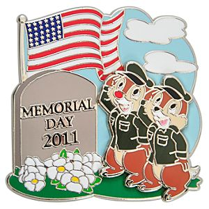 Memorial Day 2011 Chip an Dale Pin