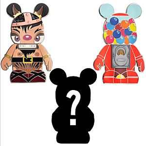 Vinylmation Urban 6 Mystery Pin Set -- 3-Pc.