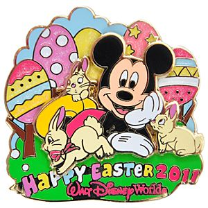 Easter 2011 Walt Disney World Mickey Mouse Pin