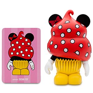 Vinylmation Bakery Series 3 Figure -- Minnie Mouse Cupcake