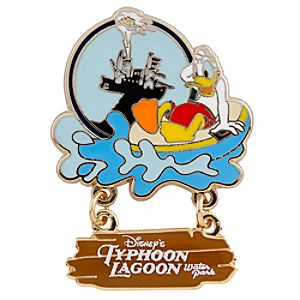 Typhoon Lagoon Donald Duck Pin