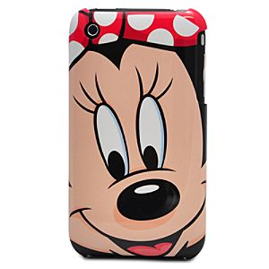 Minnie Mouse Face iPhone 3G Case