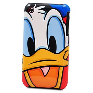 Donald Duck Face iPhone 3G Case