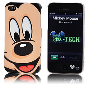 Mickey Mouse Face iPhone 4 Case