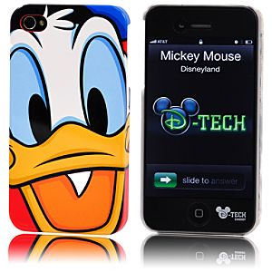 Donald Duck Face iPhone 4 Case