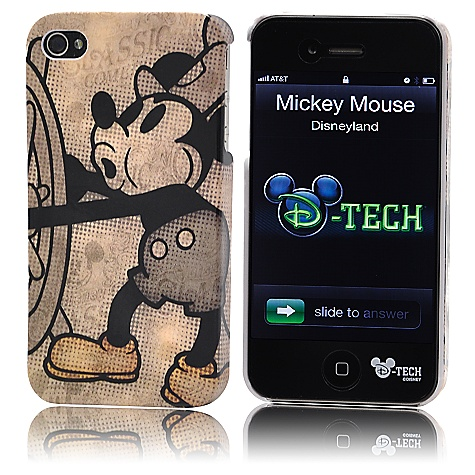 Steamboat Willie Mickey Mouse iPhone 4 Case