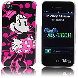 Pop Dots Minnie Mouse iPhone 4 Case