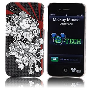 Houndstooth Mickey Mouse iPhone 4 Case