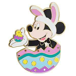 Easter Egg Mickey Mouse Pin