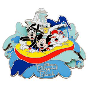 Blizzard Beach Mickey Mouse and Friends Pin