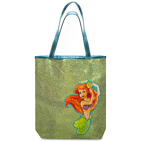 Gold Sequin Ariel's Undersea Adventure Tote