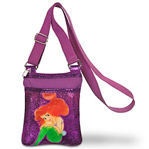 Sequin Ariels Undersea Adventure Crossbody Bag