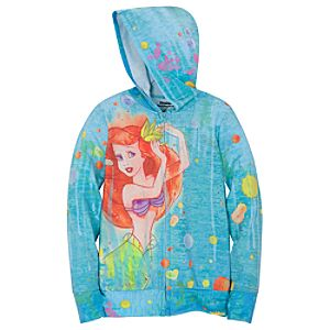 Ariels Undersea Adventure Hoodie for Girls