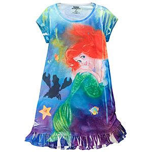 Ariels Undersea Adventure Dress for Girls