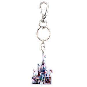 Magic Kingdom Celebrating 40 Years of Magic Metal Keychain