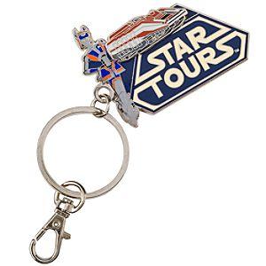 2011 Metal Star Tours Keychain