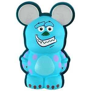 3-D Vinylmation Pin Park 4 Series -- Sulley