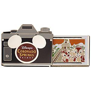 Walt Disney World Resort Camera Pins - Disneys Coronado Springs Resort