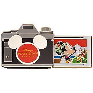Walt Disney World Resort Camera Pins - Disneys Polynesian Resort