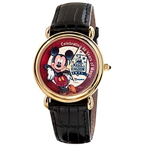 Limited Edition 40th Anniversary Artist Watch by David Mitchell