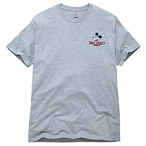 Gray Heritage Walt Disney World Mickey Mouse Tee for Men