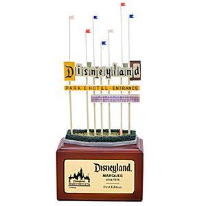 Disneyland Marquee Miniature by Olszewski