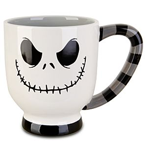Striped Jack Skellington Mug