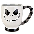 Products>Home & Decor>Kitchen & Dinnerware>Drinkware> - Striped Jack Skellington Mug: Sizes