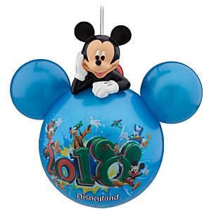 Disneyland Mickey Mouse 2010 Ornament