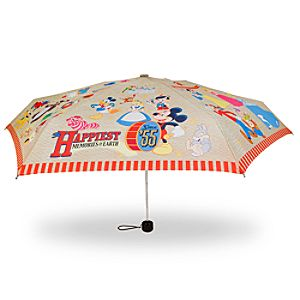 55th Anniversary Disneyland Happiest Memories on Earth Umbrella