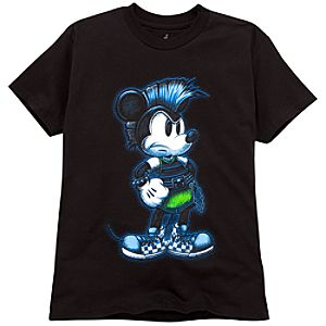 Mohawk Mickey Mouse Tee