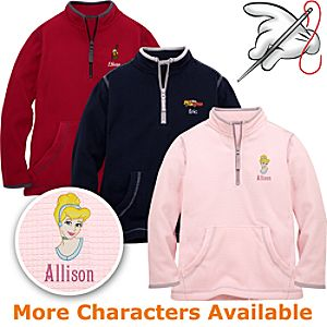 Customized Fleece Pullover Jacket for Kids