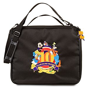 10th Anniversary Disney Pin Trading Pin Bag - Large