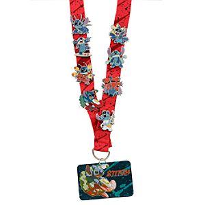 Deluxe Disney Pin Trading Stitch Starter Set