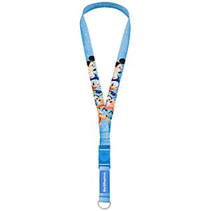 Walt Disney World Resort Mickey Mouse and Friends Lanyard