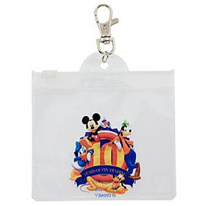 10th Anniversary Disney Pin Trading Lanyard Pouch