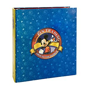 Disney Pin Trading Pin Album