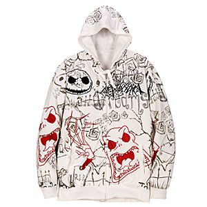 Hoodie Graphic Jack Skellington Jacket for Men