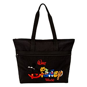 Personalized Walt Disney World Resort Tote -- Black