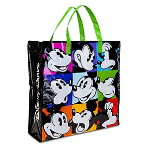Pop Art Reusable Mickey Mouse Shopping Bag