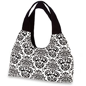 Flocked Mickey Mouse Bag for Women