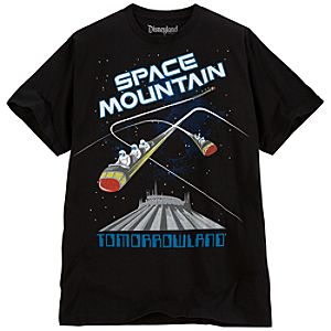 Space Mountain Tee for Adults