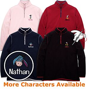 Customized Fleece Pullover for Adults