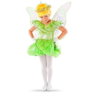 Disney Parks Authentic Sparkle Tinker Bell Costume