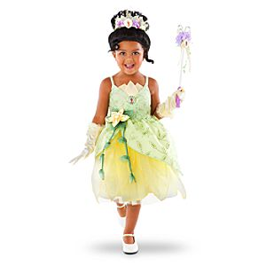 Disney Parks Authentic Princess Tiana Costume