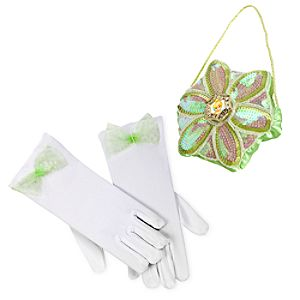 Tinker Bell Gloves and Purse Set