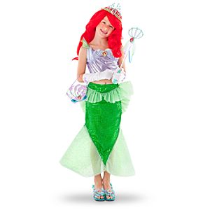 Disney Parks Authentic Ariel Little Mermaid Costume -- 2-Pc.