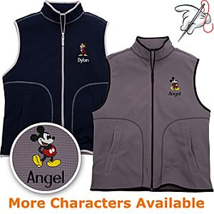 Customized Fleece Vest for Men