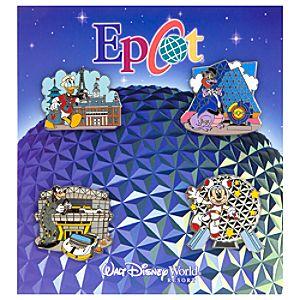 Epcot Pin Set - 4-Pc.